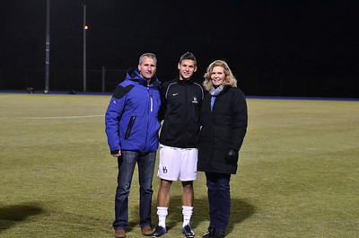 Mens Soccer - Senior Night 2013